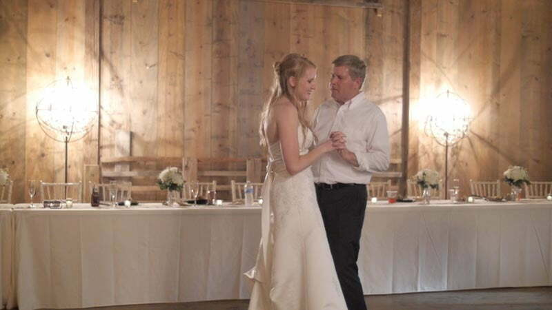 Father Daughter ohio wedding video