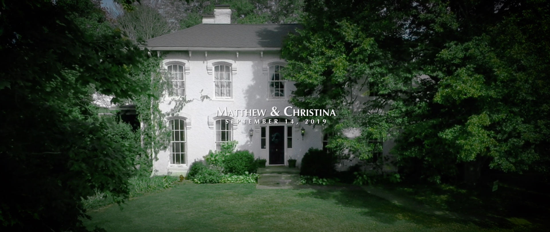 matthew christina ohio wedding video